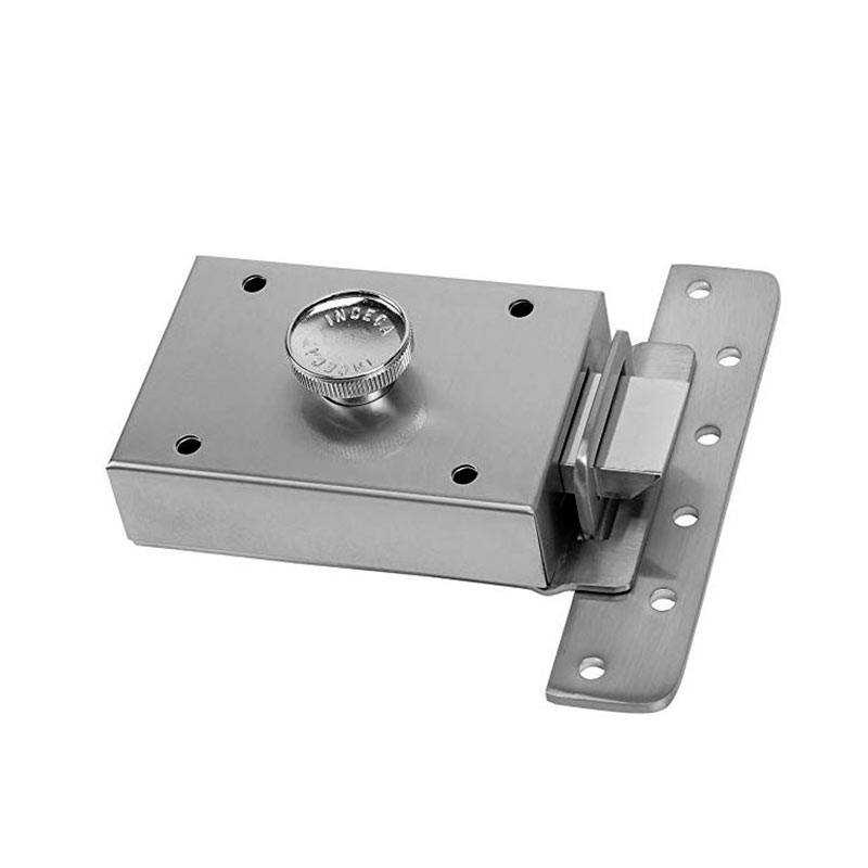cerradura inceca 303 cromada llave sola 80x120x30 - Servei tècnic Inceca de serralleria 24 hores a Barcelona